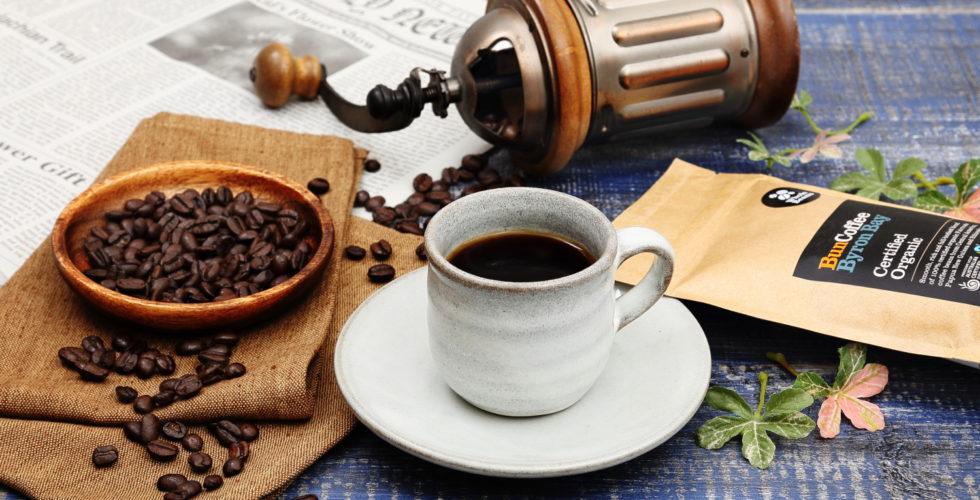 コーヒー イメージ撮影(斜め)