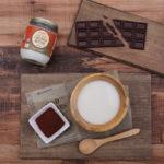 今日はバレンタインデー!オーガニックココナッツバターで生チョコレート作り!